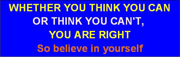 Believe yS